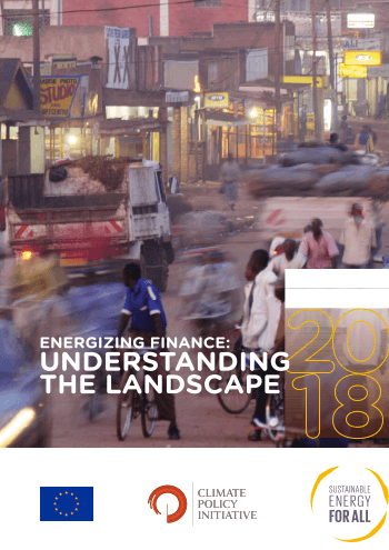 Energizing Finance: Understanding the Landscape 2018