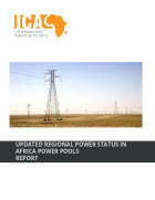Updated Regional Power status in Africa Power Pools