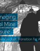 The report outlines the lessons learned from countries' experiences closing coal mines
