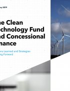 The report presents an analysis of how the cost of capital affects the competitiveness of wind and photovoltaics (PV) vs. fossil generation in developing countries. It then offers a simple framework that could be used by development finance institutions when considering investment opportunities.