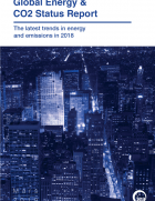 IEA's report provides a snapshot of recent global trends and developments across fuels, renewable sources, and energy efficiency and carbon emissions, in 2018