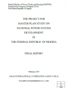 Master Plan Study on National Power System Development in Nigeria